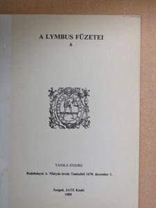Tanka Endre - Rudabányai A. Mátyás levele Tuniszból 1678. december 1. [antikvár]