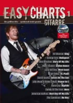 EASY CHARTS 1 GITARRE + CD MP3