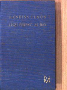 A. Barbier - Liszt Ferenc az iró [antikvár]