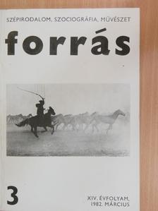 Féja Géza - Forrás 1982. március [antikvár]
