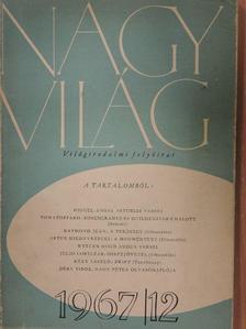 Artur Miedzyrzecki - Nagyvilág 1967. december [antikvár]