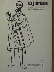 Bettina von Arnim - Új Írás 1988. augusztus [antikvár]