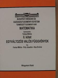 Farkas Miklós - Matematika II. [antikvár]