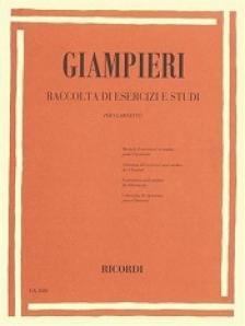 GIAMPIERI - RACCOLTA DI ESERCIZI E STUDI PER CLARINETTO