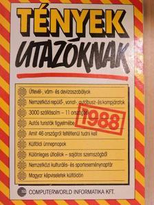 Besztercey Gábor - Tények utazóknak 1988 [antikvár]