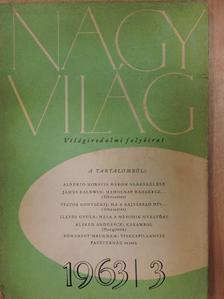 Alberto Moravia - Nagyvilág 1963. március [antikvár]