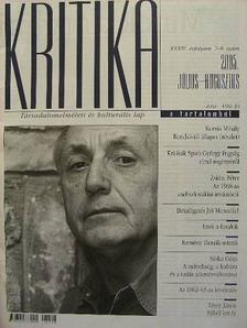 Almási Miklós - Kritika 2005. július-augusztus [antikvár]