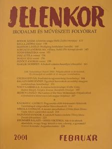 Balázs Imre József - Jelenkor 2001. február [antikvár]