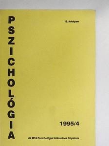 Fülöp Márta - Pszichológia 1995/4. [antikvár]