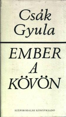 Csák Gyula - Ember a kövön [antikvár]