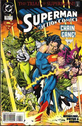 Micheline, David, Dwyer, Kieron, Rodier, Denis - Action Comics 716. [antikvár]
