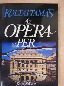 Békés András - Az Opera-per [antikvár]