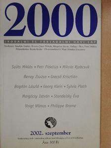 Beney Zsuzsa - 2000 2002. szeptember [antikvár]