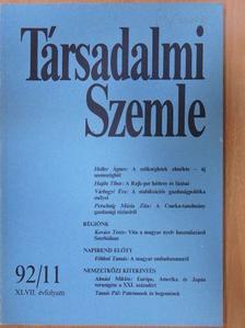 Almási Miklós - Társadalmi Szemle 1992. november [antikvár]