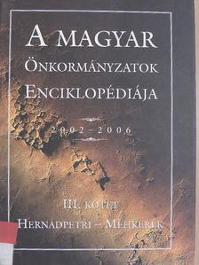 A magyar önkormányzatok enciklopédiája 2002-2006 III. [antikvár]