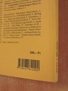 Anghy András - Jelenkor 2001. április [antikvár]