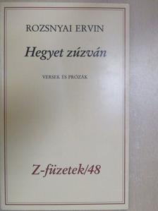Rozsnyai Ervin - Hegyet zúzván [antikvár]