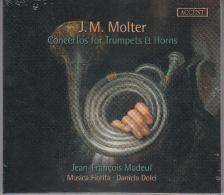 Molter - CONCERTOS FOR TRUMPETS&HORNS,CD