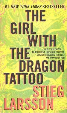 Stieg Larsson - The Girl with the Dragon tattoo [antikvár]