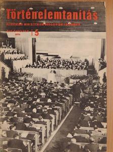 Dr. Balázs Györgyné - Történelemtanítás 1974/5. [antikvár]