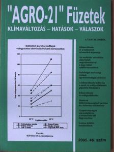 """Bencze Szilva - """"AGRO-21"""" Füzetek 2005/46. [antikvár]"""