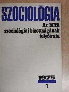 Ágoston László - Szociológia 1975/1. [antikvár]