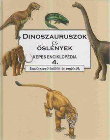 BARRY COX - Dinoszauruszok és őslények képes enciklopédia 4. [antikvár]