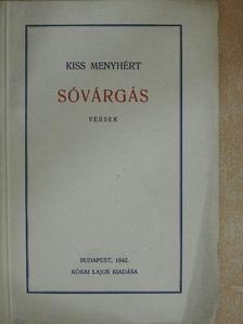 Kiss Menyhért - Sóvárgás [antikvár]