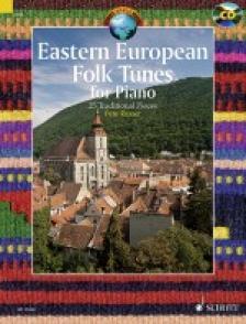 TRAD.ARR. PETE ROSSER - EASTERN EUROPEAN FOLK TUNES, 25 TRAD. FOR PIANO + CD (SCHOTT WORLD MUSIC)
