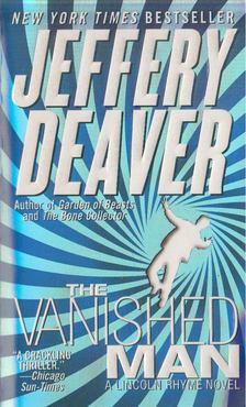 Jeffery Deaver - The Vanished Man [antikvár]