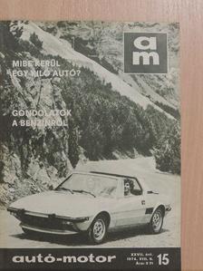 Lelkes Mihály - Autó-Motor 1974. augusztus 6. [antikvár]