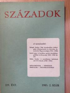 Gyarmati György - Századok 1985/2. [antikvár]