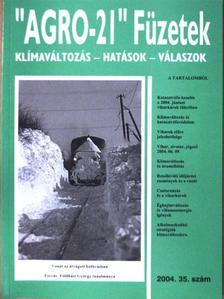 """Bonta Imre - """"AGRO-21"""" Füzetek 2004/35. [antikvár]"""
