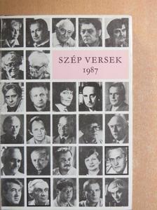 Ágh István - Szép versek 1987 [antikvár]