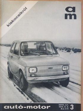 Földvári András - Autó-motor 1974. február 6. [antikvár]
