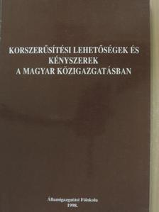 Bende-Szabó Gábor - Korszerűsítési lehetőségek és kényszerek a magyar közigazgatásban [antikvár]