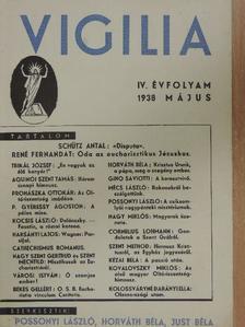 Aquinói Szent Tamás - Vigilia 1938. május [antikvár]
