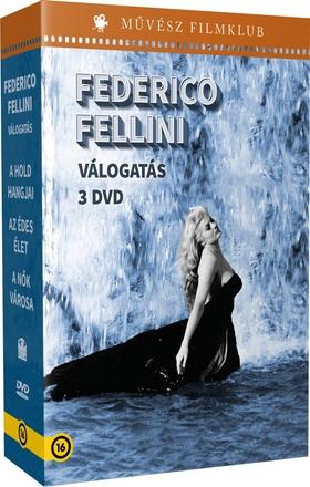 Federico Fellini - FELLINI VÁLOGATÁS DVD