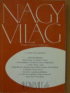Bónis Ferenc - Nagyvilág 1981. április [antikvár]