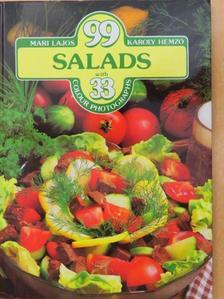 Hemző Károly - 99 salads with 33 colour photographs [antikvár]