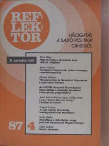 Agárdi Péter - Reflektor 1987/4 [antikvár]