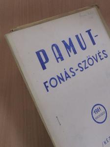 Bakos Béla - Pamut-Fonás-Szövés 1961. Kongresszus [antikvár]