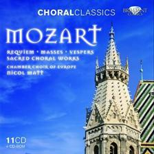 MOZART - SACRED CHORAL WORKS 11CD+CD-ROM NICOL MATT