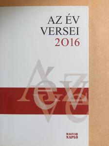 Aczél Géza - Az év versei 2016 [antikvár]