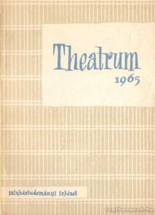Kovács Tivadar (szerk.) - Theatrum 1965 [antikvár]