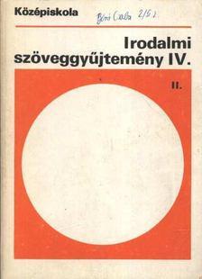 Madocsai László - Irodalmi szöveggyűjtemény IV. [antikvár]