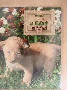 Kovács Zsolt - Ismerjük fel az állatkerti emlősöket! [antikvár]