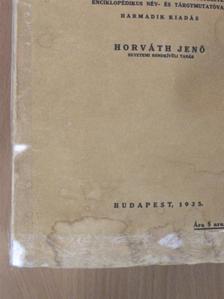 Horváth Jenő - A modern világ története 1815-1920 [antikvár]