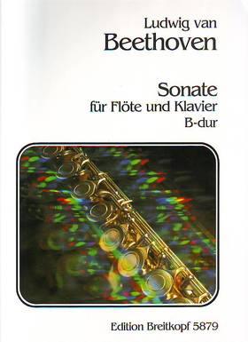 BEETHOVEN - SONATE FÜR FLÖTE UND KLAVIER B-DUR (HERAUSGEGEBEN VON WILLY HESS)