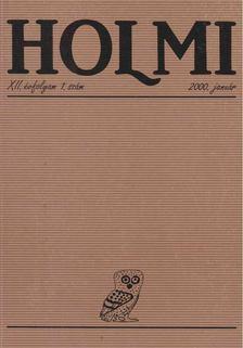Réz Pál - HOLMI 2000. január [antikvár]